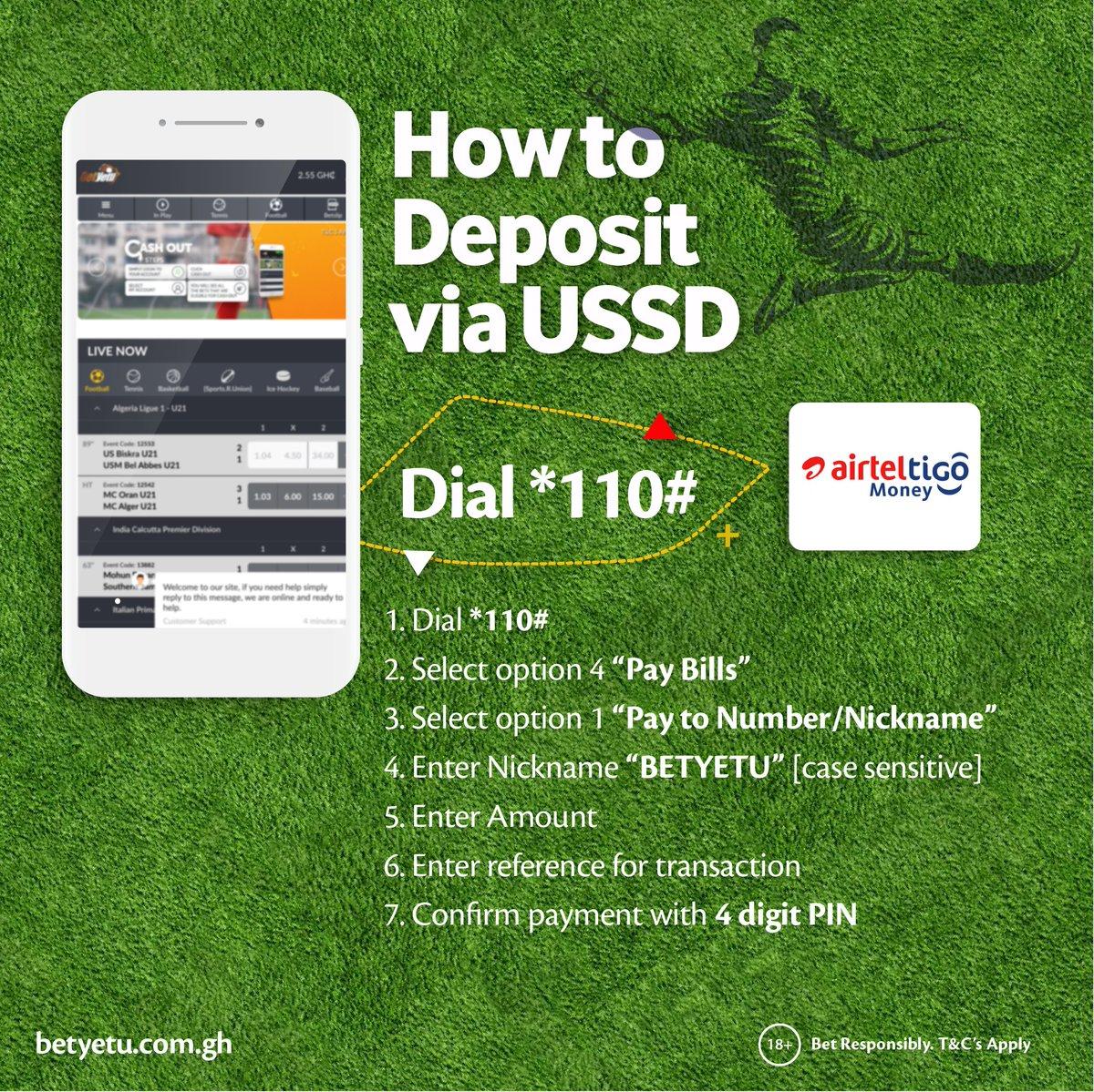 Deposit betyetu Ghana