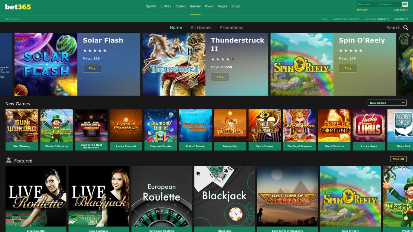 Bet365 Promo Code for the Casino