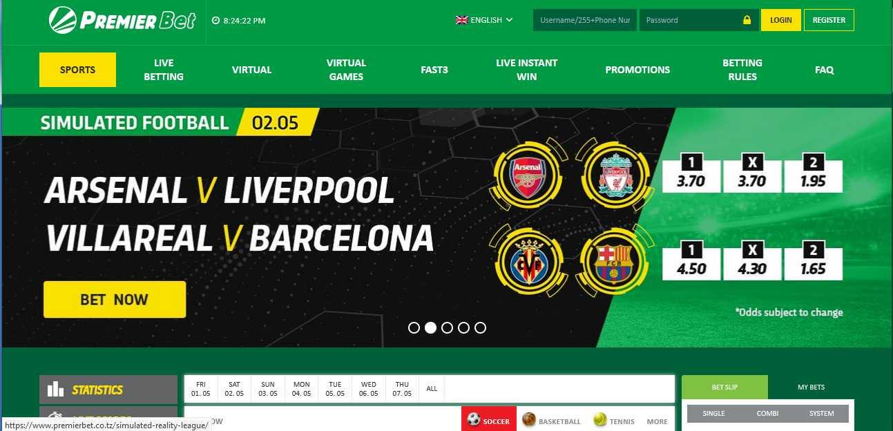 Premierbet Ghana Sports Betting