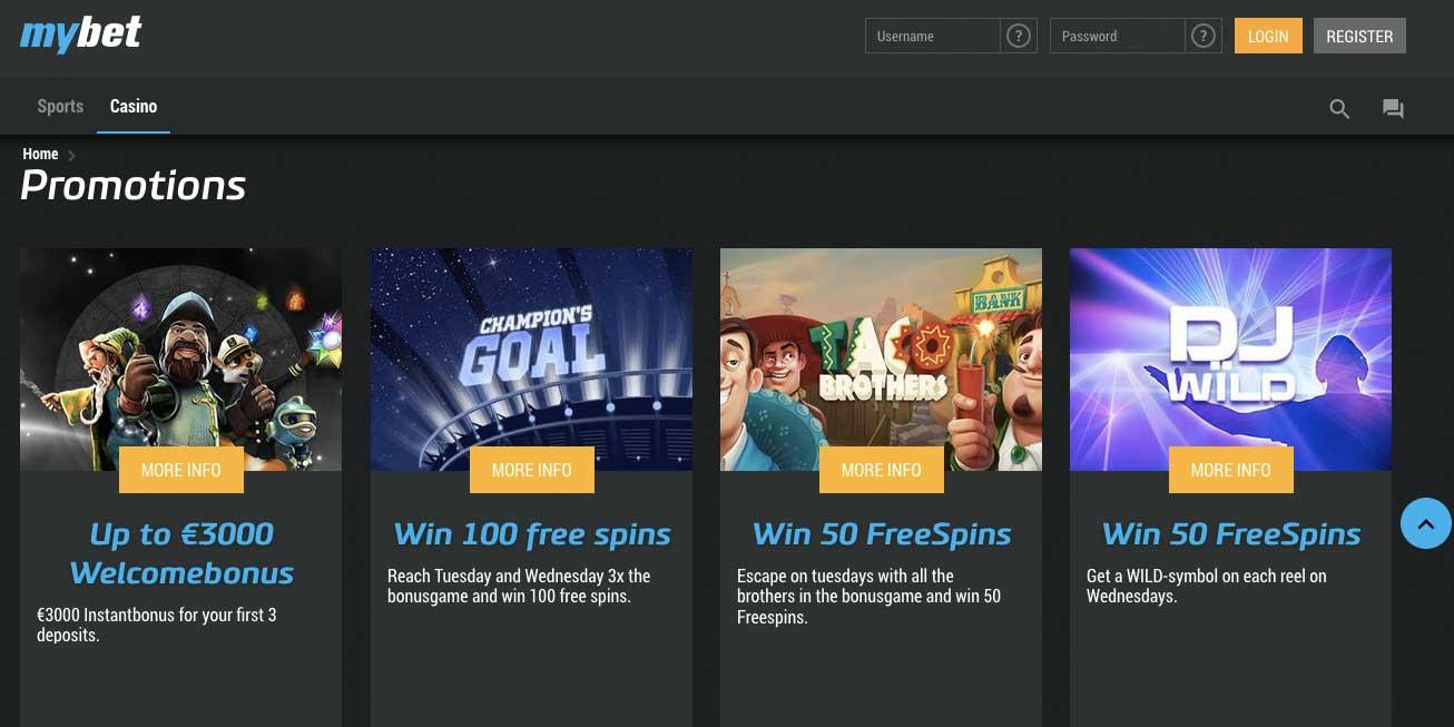 MyBet Mobile Casino