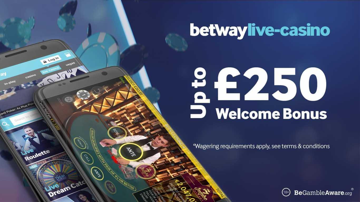 Casino Betway Ghana Welcome Bonus